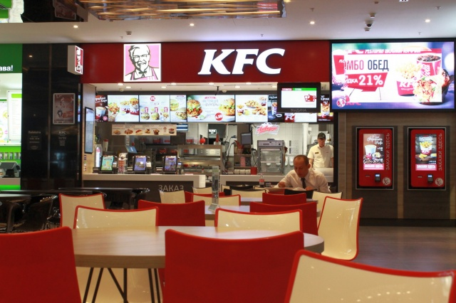 Фуд-корт KFC в ТРЦ Галерея